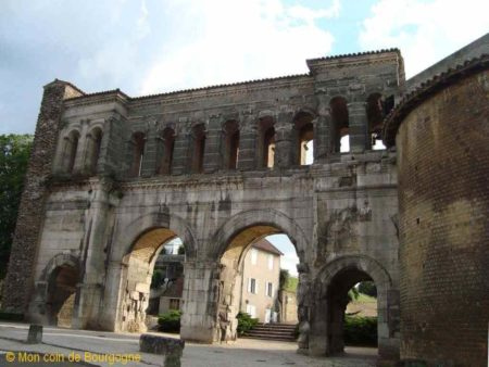 Porte romaine de St André - Autun