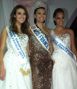 Miss France et ses dauphines