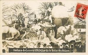 Char de la reine des reines en 1913