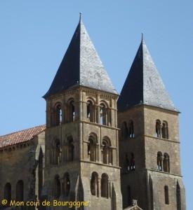 Paray le Monial - vue sur les clochers