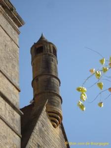 Echauguette située sur la tour St Nicolas