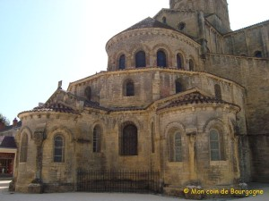Chevet de la basilique de Paray-le-Monial