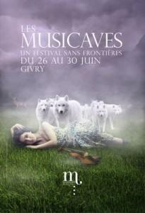 Affiche des Musicaves 2013