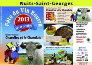 Affiche Fête du vin bourru 2013