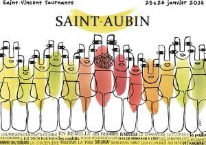Affiche officielle de la St Vincent 2014
