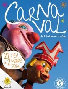 affiche du Carnaval de Chalon 2014