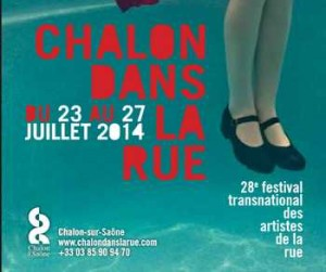 Affiche Chalon dans la rue 2014