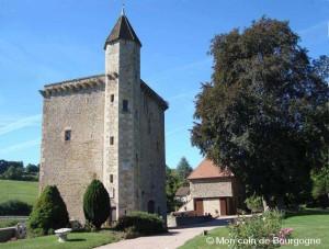 Château de Couches - tour carrée