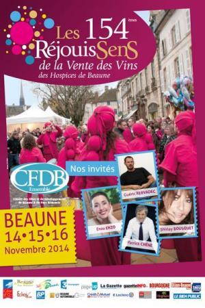 Affiche RejouiSens Beaune 2014