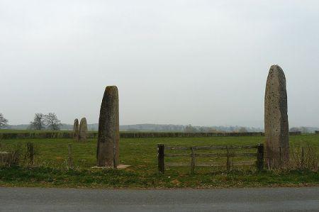Menhirs d'Epoigny