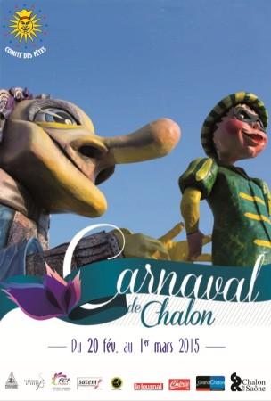 Affiche Carnaval de Chalon 2015