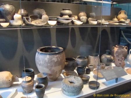 Objets du musée de Bibracte
