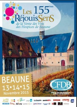 Afiche 155èmes RéjouiSenS de Beaune