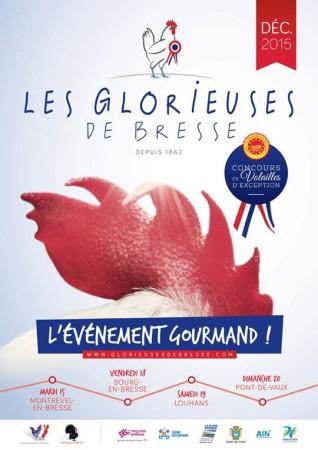 Affiche concours Glorieuses de Bresse 2015