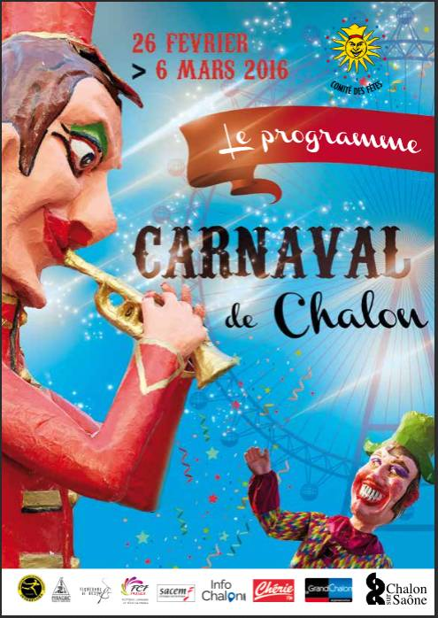 affiche verticale Carnaval 2016