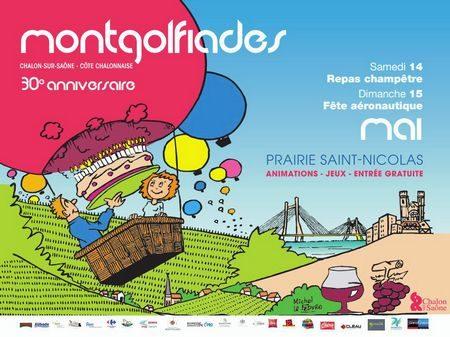 affiche Montgolfiades 2016 (horizontale)