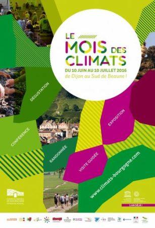 Affiche mois des Climats