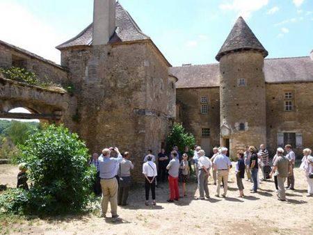 Visite au château Pontus-de-Tiard