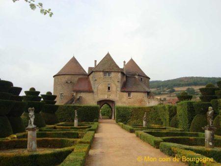 Jardin anglais - château de Berzé