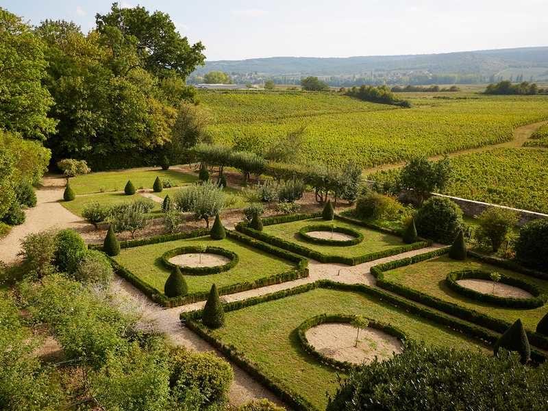 Jardins du château de Chamirey