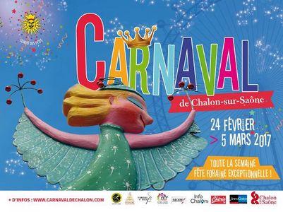 Affiche du Carnaval de Chalon sur-S - 2017