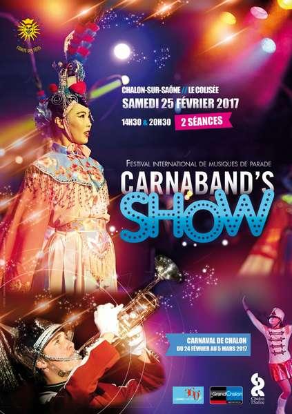 Affiche du Carnabands Show 2017