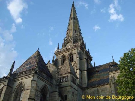Clocher de la cathédrale d'Autun