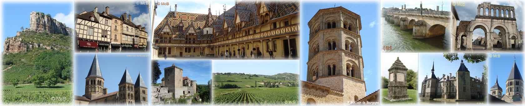 Visiter mon coin de Bourgogne