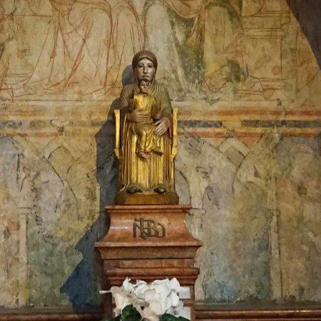 Tournus - Vierge en bois doré