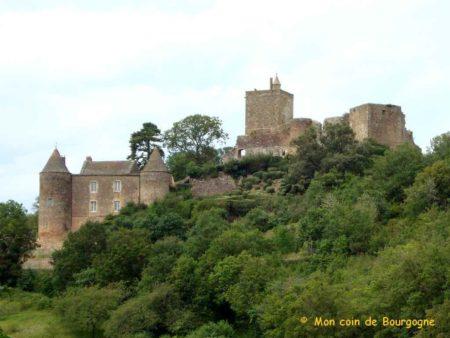 Château de Brancion - Vue générale
