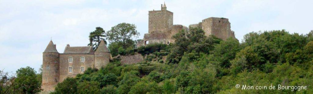 Brancion - Vue panoramique