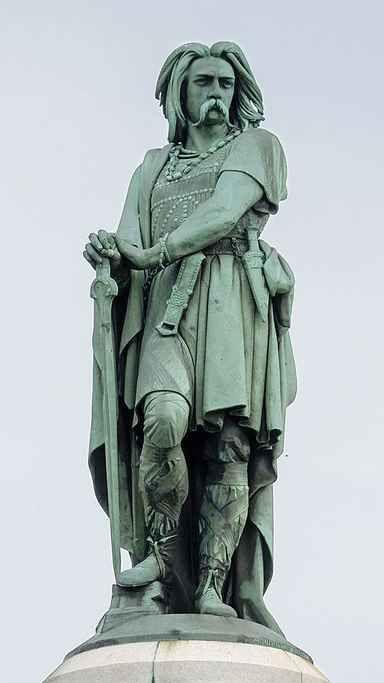 Statue de Vercingétorix par le sculpteur Millet