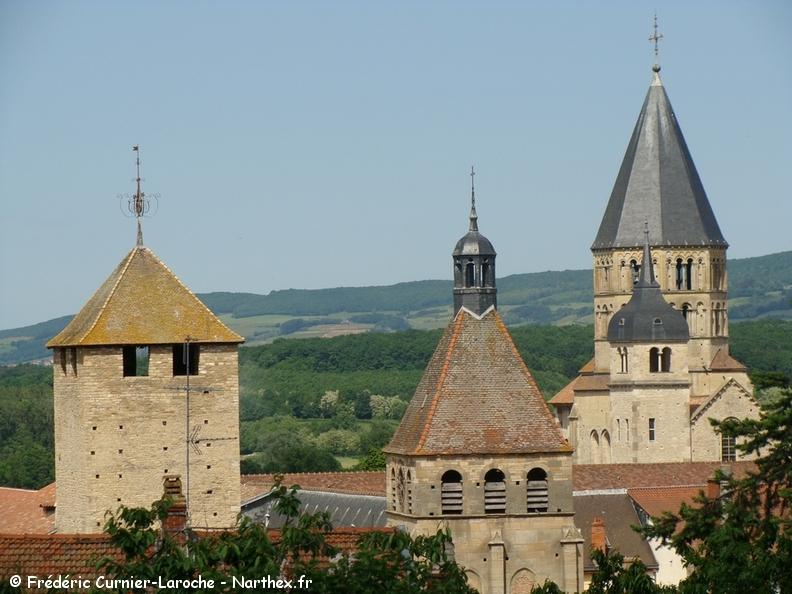 Les 3 clochers de Cluny